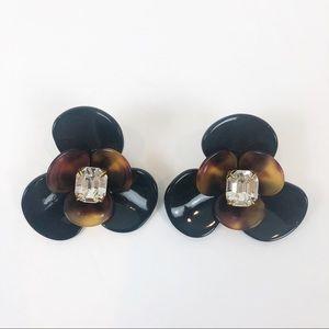 Henri Bendel Flora Resin Earrings